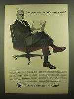 1965 Transamerica Corporation Ad - 98% Nationwide