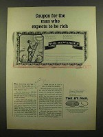 1965 The St. Paul Insurance Ad - Expects to Be Rich