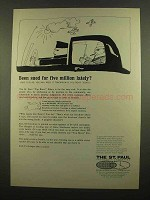 1965 The St. Paul Insurance Ad - Sued for Five Million