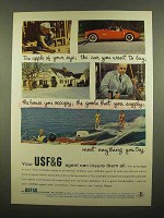 1965 USF&G Insurance Ad - The Apple of Your Eye