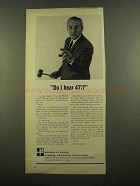 1965 Merrill Lynch Ad - Do I hear 47 1/8 ?