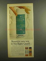 1965 Right Guard Deodorant Ad - Beautiful New Way