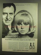 1965 Clairol Shampoo Ad - World-Famous Hairdresser