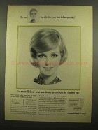 1965 Clairol Condition Ad - Do You Have To Hide Hair