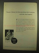 1965 Warner & Swasey Turret Lathe Ad - Been Practicing