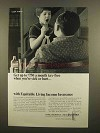 1965 Equitable Living Income Insurance Ad, Sick or Hurt