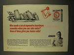 1965 Arm & Hammer Baking Soda Ad - Heartburn