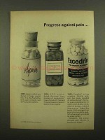 1965 Excedrin Pain Reliever Ad - Progress Against Pain