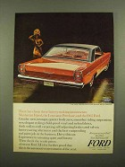1965 Ford Galaxie 500/XL Hardtop Ad - Investments