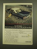 1966 Chrysler 300 2-Door Hardtop Ad - Broke Records