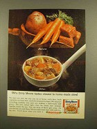 1965 Dinty Moore Beef Stew Ad - Closest to Home-Made