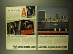1965 United States Steel Ad - Take the A Train