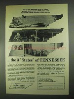 1967 Tennessee Development Ad - 600,000 Acres of Lakes