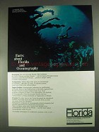 1967 Florida Development Commission Ad - Oceanography