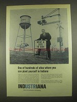 1967 Indiana Department of Commerce Ad - Plant Yourself