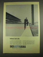 1967 Indiana Department of Commerce Ad - Test Site