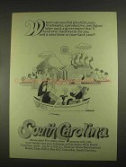 1967 South Carolina State Development Board Ad - Pure