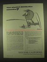 1967 San Jose, California Chamber of Commerce Ad