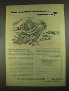 1967 Santa Clara, California Chamber of Commerce Ad