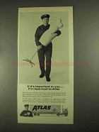1967 Atlas Van Lines Ad - If It's Important to You