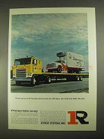 1967 Ryder System Ad - Put Off Buing New Trucks
