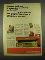 1967 New Holland Hayliner 268 Baler Ad - Extra Tons