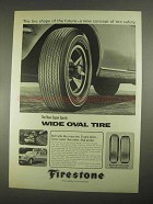 1967 Firestone Super Sports Wide Oval Tire Ad - Future