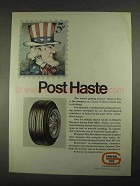 1967 General Dual 90 Tires Ad - Post Haste