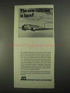 1967 Seaboard Coast Line Railroad Ad - Is Here?