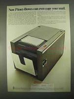 1967 Pitney-Bowes 250 Copier Ad - Can Copy Your Mail