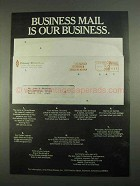 1967 Pitney-Bowes Machines Ad - Business Mail