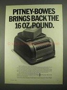 1967 Pitney-Bowes 3700 Parcel Post Scale Ad