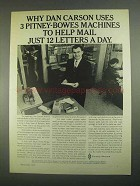 1967 Pitney-Bowes Ad - Scale, 701 Addresser-Printer
