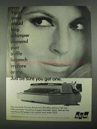 1967 Smith-Corona Secretarial 315 Office Typewriter Ad