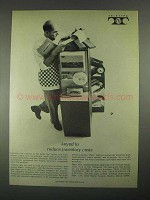 1967 Teletype Equipment Ad - Reduce Inventory Costs