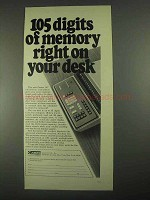 1967 Canon 167 Electronic Calculator Ad - Memory