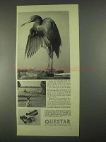 1967 Questar Field Model and Standard Telescope Ad