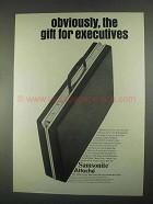 1967 Samsonite Commuter Attache Ad - For Executives