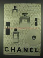 1967 Chanel No. 5 Perfume Ad
