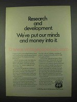 1967 Phillips 66 Oil Ad - Research and Development