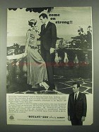 1967 Botany 500 Varano Wool Suit Ad - Come on Strong
