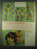 1967 Carter's Checkermints Ad - Let's Play