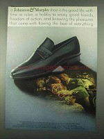 1967 Johnston & Murphy Beaumont Shoe Ad - Good Life