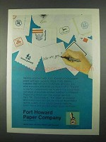 1967 Fort Howard Paper Company Ad