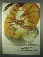 1967 Container Corporation of America Ad - Frozen Food