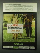 1967 A.O. Smith Air Conditioning Ad - Investment Advice
