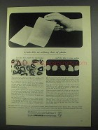 1967 Philips Research Laboratories Ad - Sheet Plastic