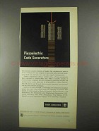 1967 Sandia Laboratories Ad - Piezoelectric Code