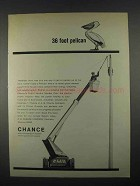 1967 Chance Pelican Ad - 36 Foot Pelican