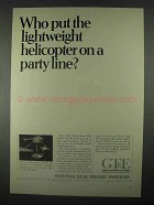 1967 GT&E LOH Avionics Package Ad - Helicopter